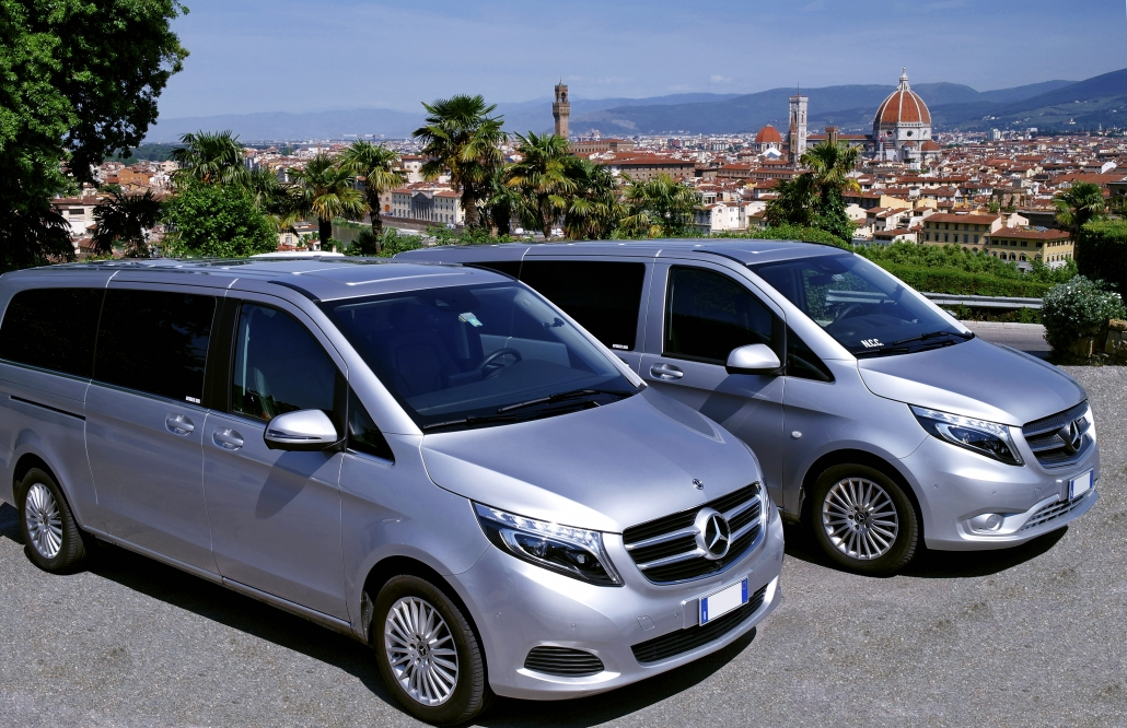 Private shuttle limousine Florence