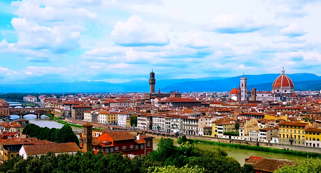 Private panoramic tour of Florence by van